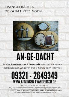 Angedacht 2021 Passion+Ostern